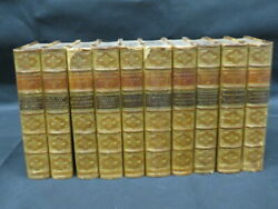 Complete Set The Dramatic Works Of William Shakespeare 1892 In 10 Volumes