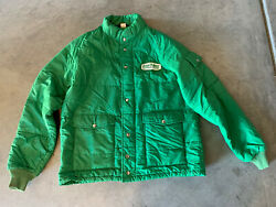 Mens Xl Vintage Usa Swingster Hipster Quilted Insulated Jacket Zip/snap Nylon