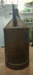 Antique Grand Trunk Railway Gas Can