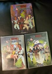Time Life Real Ghostbusters Dvd Lot