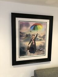 Jj Adams Itand039 Mary That We Love Framed And Coa Mary Poppins Louis Vuitton Shard