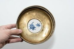 Antique Bowl For Fruits, Sweets And Cookies. 1636 Year Of Release