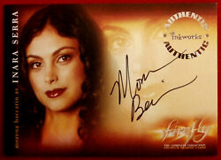 Joss Whedon's Firefly - Morena Baccarin - Personally Signed Autograph Card - A3