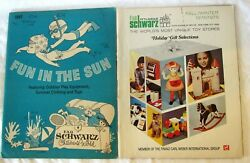 Lot Of 2 Vintage Fao Schwarz Toy Catalogs Fall 1974 Summer 1967