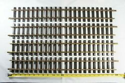 4 Pack Lgb 1000 G-scale Double 12 Inch Straight Track Sections 24 Long