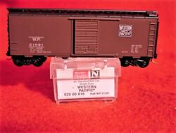 Mtl 20816 Western Pacific 40' Box Car 'feather Logo' 21091 'new' N-scale