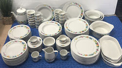 104 Piece Villeroy And Boch Septfontaines Vegetables, Fruits And Flowers Luxembourg