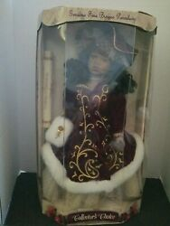 Collectors Choice Genuine Fine Bisque Porcelain Doll Aa 16 With Coa