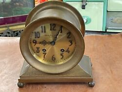 Chelsea Ships Clock 1897-1899 Retailed By Chester Billings And Sons New York