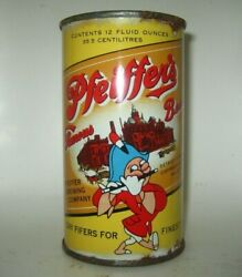 Old Pfeifferand039s Flat Top Beer Can Detroit Michigan