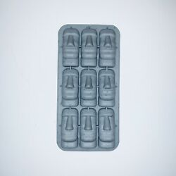 Moai Easter Island Silicone Mold For Ice And Candy