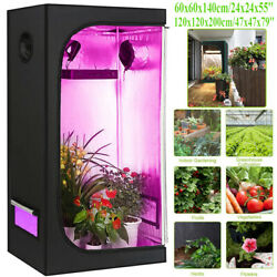 Hydroponic Indoor Room Bud Plant Gardening Growth Tent Canopy Hydro Oxford Box