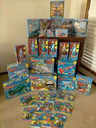 Large Collection Of Thunderbirds Memorabilia Mint In Boxes.