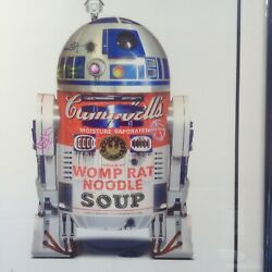 Jj Adams - And039r2d2and039 - Rare Limited Edition Print - Framed + Coa - New