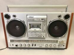 National Radio Cassette Player Large Rx-7000 Ambience Junk Products Vintage Used
