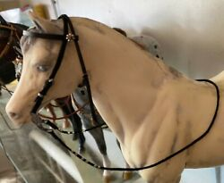 traditional breyer size western BRIDLE. model horse peter stone tack