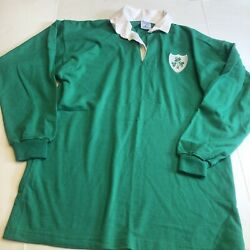Vintage Green Connolly Football Jersey Made In Ireland Xxl Rare