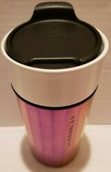 New Starbucks Coffee ☕stainless Steel + Cerami👍 Travel Mug Cup Tumbler With Lid