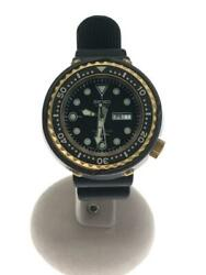 Seiko Professional Diver Day Date Limited Edition Quartz Mens Watch Auth Works