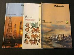 Madisonville Texas 1973-1976 Telephone Directories/books Lot Of 3