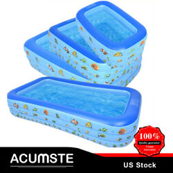 Sale Large Family Swimming Pool Outdoor Summer Inflatable Kids Paddling Pools