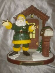 2004 Memory Company Welcome Home Santa Green Bay Packers 5th In Limited Series