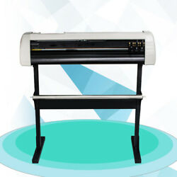 720mm 28 Inch Sign Sticker Paper Feed Vinyl Cutter Plotter Machine With Stand