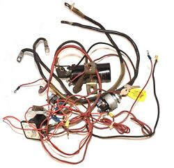 Ford Lgt-165 Garden Tractor Wiring Harness Riding Mower Part Coil Solenoid