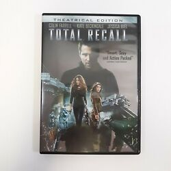 Total Recall Dvd 2012 Theatrical Ed Colin Farrell Kate Beckinsale Action Movie