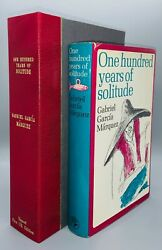 One Hundred Years Of Solitude/marquez First Uk Edition Signed F/nf