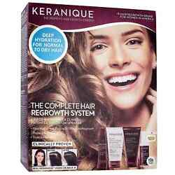 Keranique The Complete Hair Regrowth System 4 Pc Womenand039s Clinically Proven 10/22