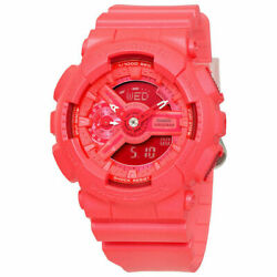 Casiog-shock S Series Womenand039s Hot Pink Resin Watch Gmas110vc-4a
