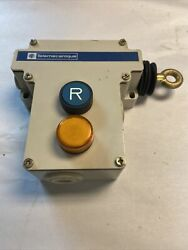 Telemecanique Xy2-ce-1a-196 Emergency Stop Trip Wire Switch