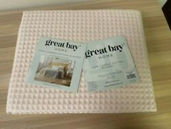 Great Bay Home 100 Cottonfull/queen Size90x90mikala Collection