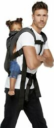 Bykay Ssc Soft Structured Carrier Classic Cotton Baby Steel Grey