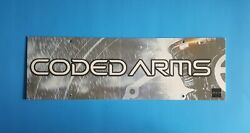 Coded Arms 2005 Video Game Store Display Ceiling Sign Sony Psp Advertising 6x19