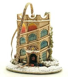 Lilliput Lane Heading Home For Christmas Holiday Ornament W/ Box And Deed