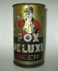 Old Fox Deluxe Flat Top Beer Can Peter Fox Chicago, Illinois Oi/irtp