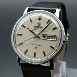 Omega Constellation Vintage Overhaul Chronometer Automatic Mens Watch Authentic