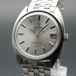Omega Constellation C-line Vintage Overhaul Date Cal.564 Automatic Mens Watch
