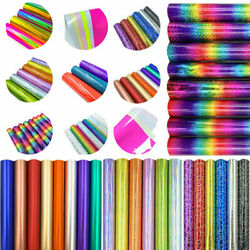 46 Assorted Colors Adhesive Craft Vinyl Cricut Film For Glass Window Decals Diy