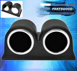 Jdm Dual Abs Plastic Pod + Air Fuel + Exhaust Temperature Gauge For Altima 300zx