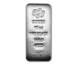10 Troy Oz .999 Silver Pamp Suisse Bar Bu W Assay Certificate And Serial Number