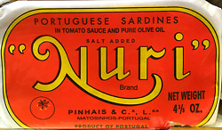 Nuri Portugese Sardines In Tomato Sauce And Pure Olive Oil 125g Ea | 4 Cans