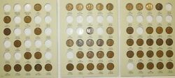 1909-1940 Pds Lincoln Wheat Penny Cent Collection, 56 Coins In Album W/semi-keys