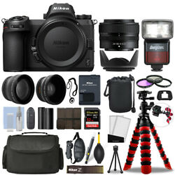 Nikon Z 7 Mirrorless Camera With 24-50mm + 32gb 3 Lens Ultimate Accessory Kit