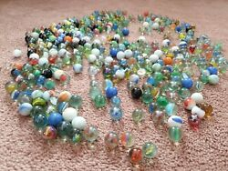 Joblot Of Old 352 Vintage Marbles Rare Styles Pontin Marks Stunning Unique Onion