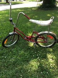 Vintage Schwinn Fair Lady Sting-ray Bicycle With Dorcy Speedometer