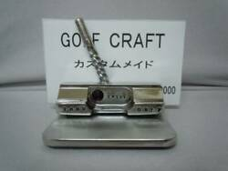 Made Of Sus303 Miniature Putter Business Card Stand Twisted Neck 7-102