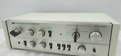 Luxman Control Amplifier A3300 + A33 Ac100v Working Properly 4645